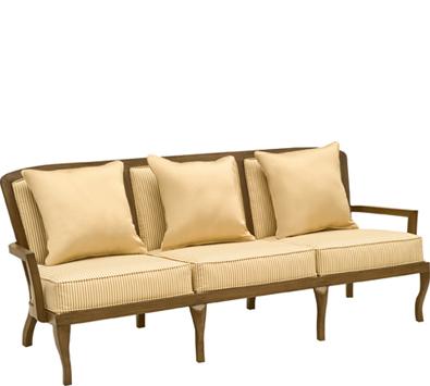 Landgrave Atlanta Cast Aluminum Sofa