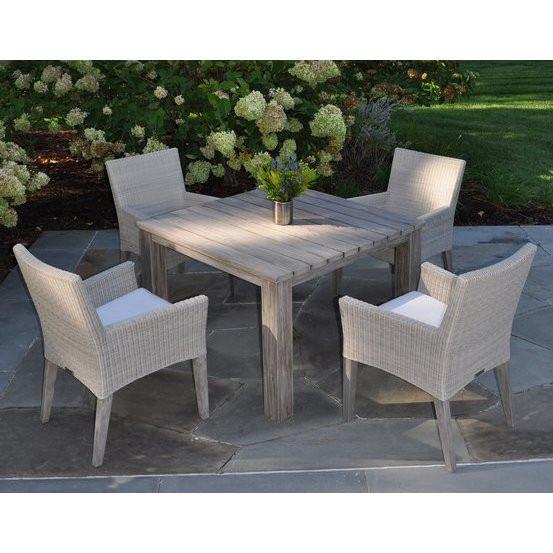 Kingsley-Bate Valhalla Teak Square Dining Table