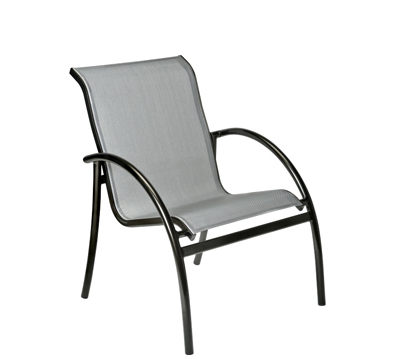 Tribeca Aluminum Dining Arm Chair – Stackable