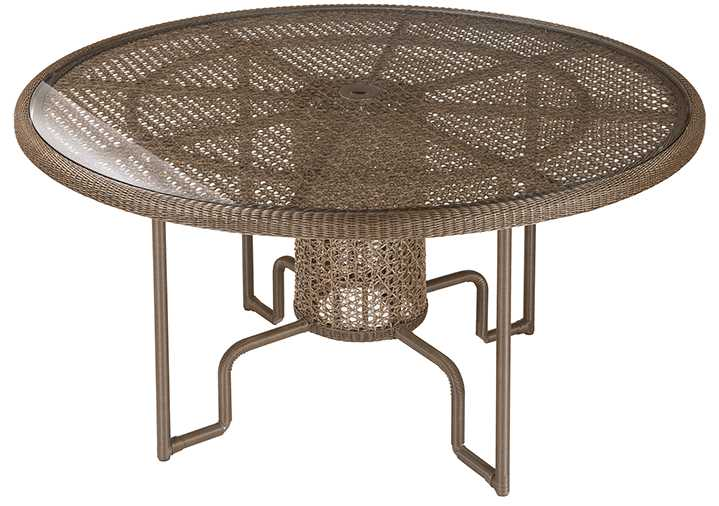 Barlow Tyrie 59� Kirar Woven Circular Dining Table