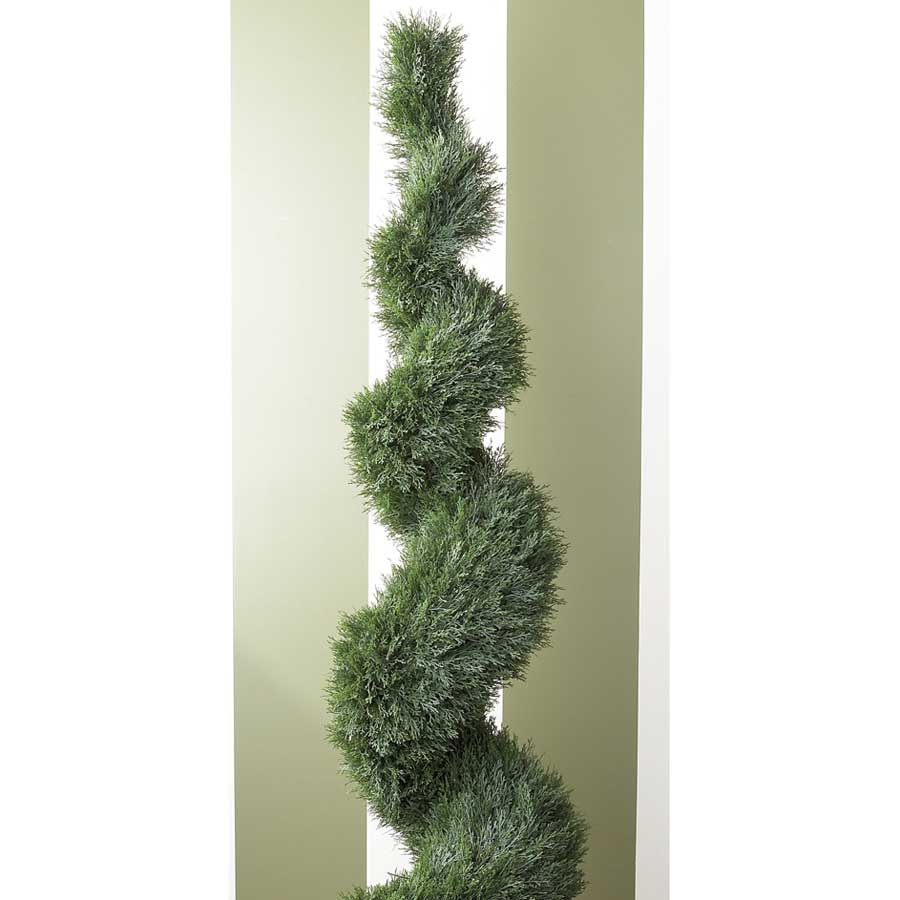 6 Foot Spiral Cypress Topiary