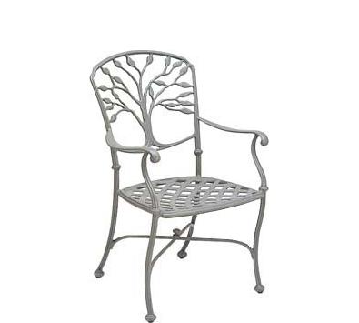 Heritage Aluminum Dining Arm Chair