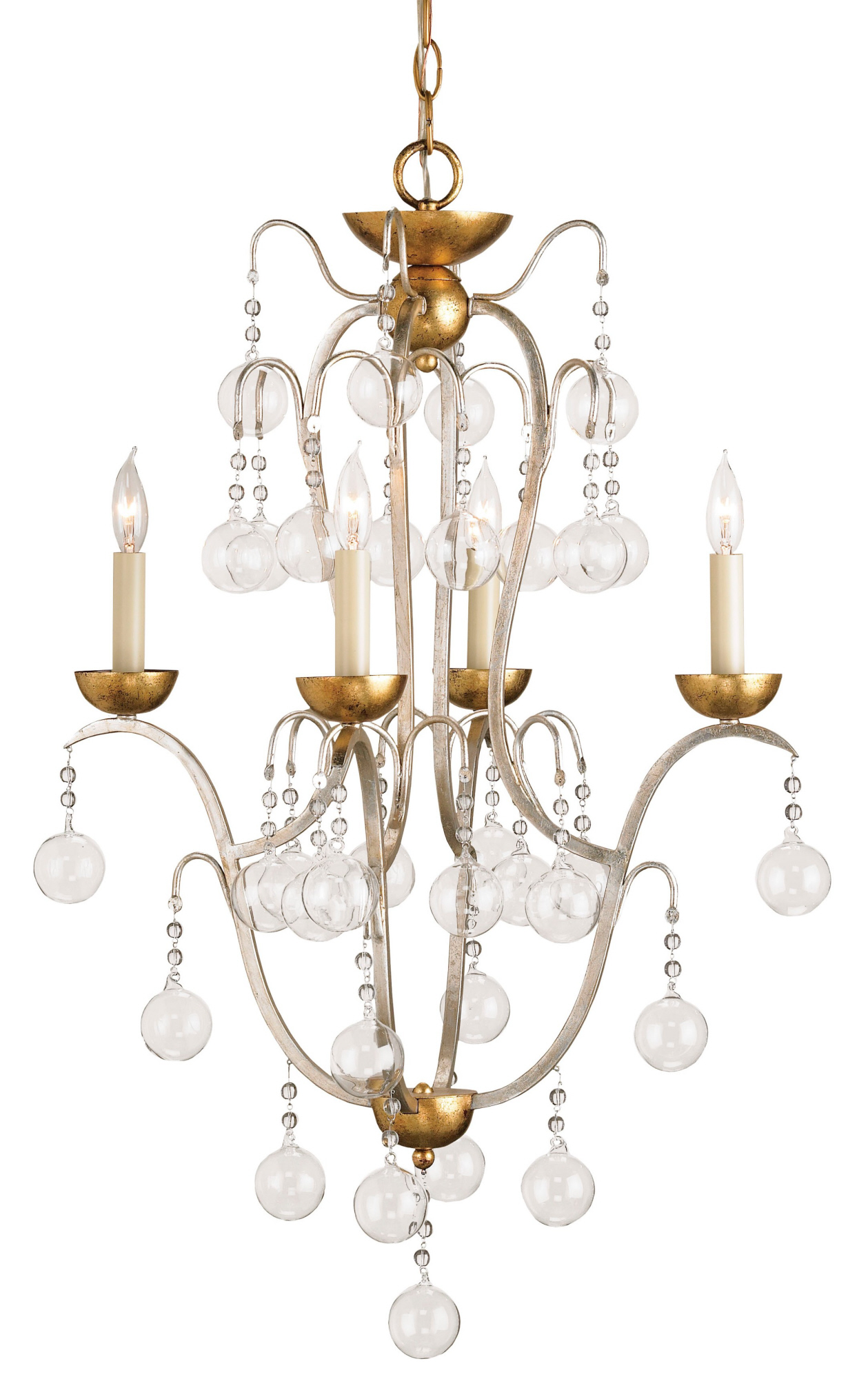Currey & Company Allusion Chandelier