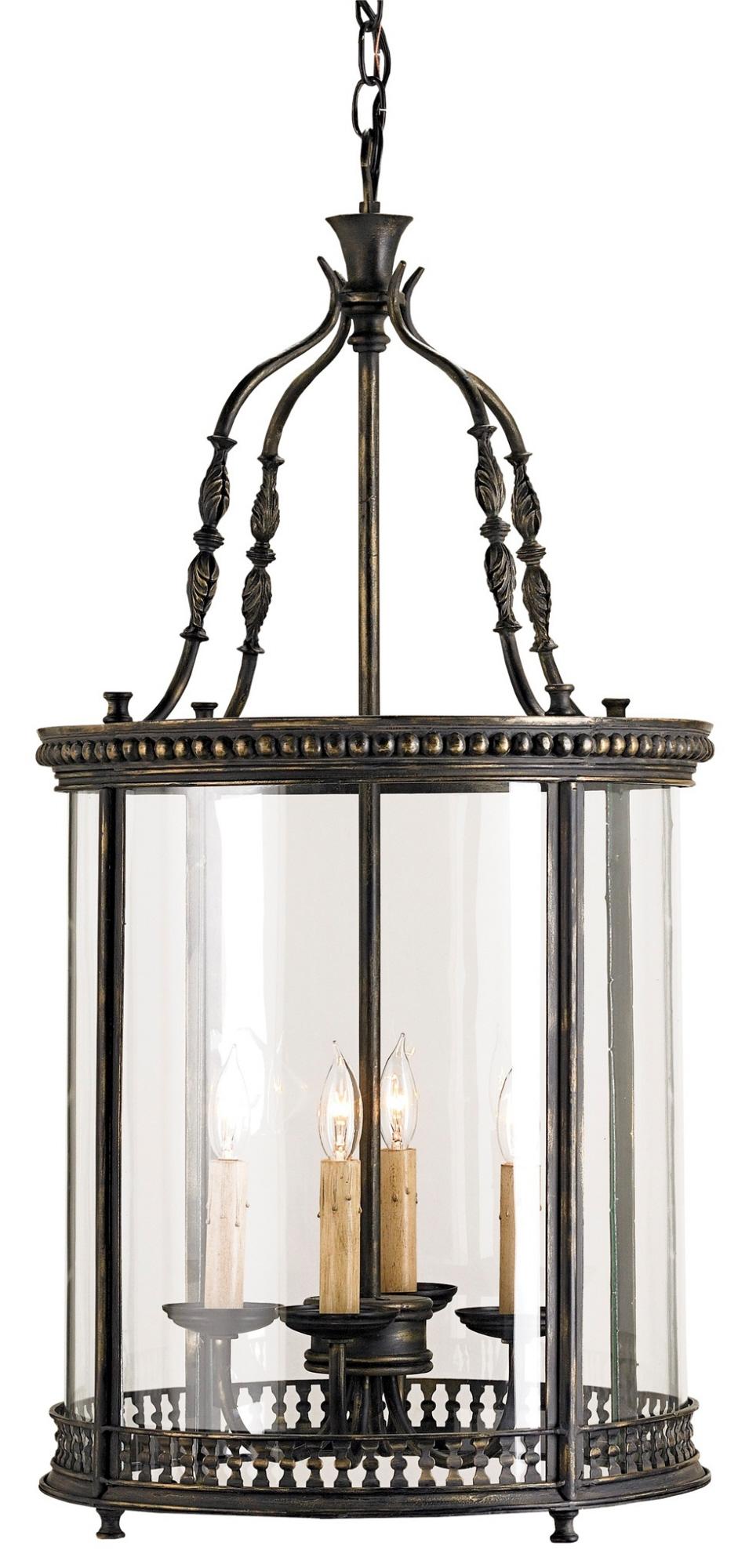 Currey & Company Grayson Lantern Chandelier