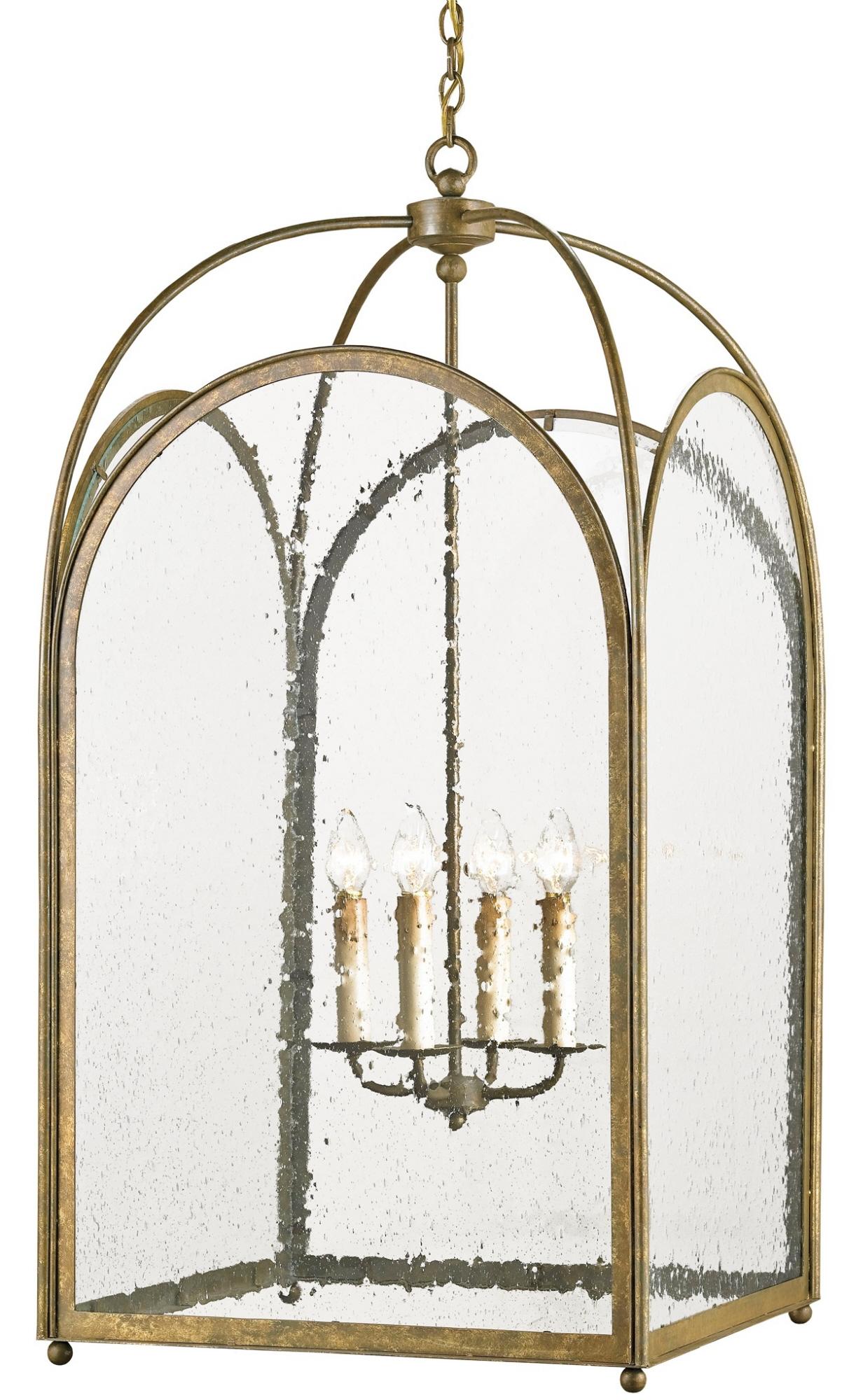 Currey & Company Loggia Lantern Chandelier