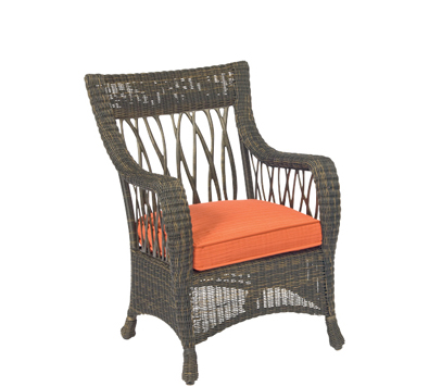 Serengeti Wicker Dining Arm Chair