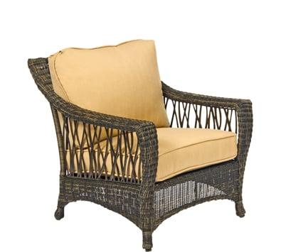 Serengeti Wicker Stationary Lounge Chair