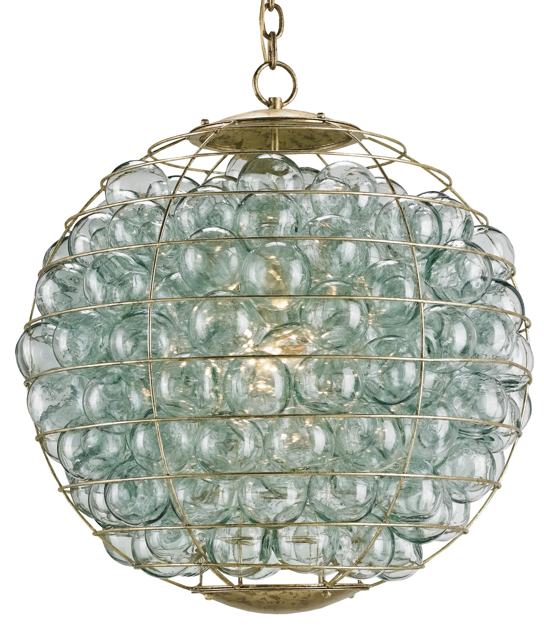 Currey & Company Pastiche Orb Chandelier