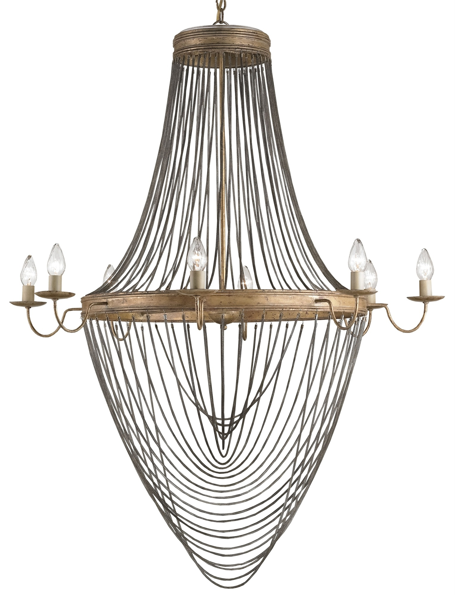 Currey & Company Large Lucien Chandelier