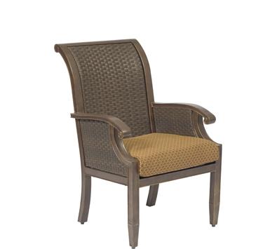 Del Cristo Wicker Dining Arm Chair