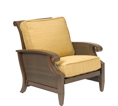 Del Cristo Wicker Rocking Lounge Chair