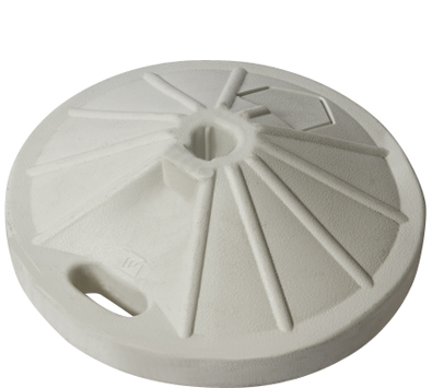 Umbrellas 50# Umbrella Base – White