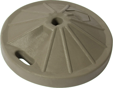 Umbrellas 50# Umbrella Base – Taupe