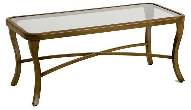 Landgrave Atlanta Cast Aluminum Coffee Table
