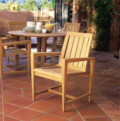 Kingsley-Bate Amalfi Teak Dining Armchair