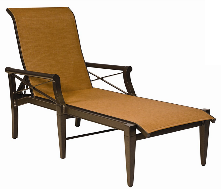 Andover Aluminum Sling Adjustable Chaise Lounge