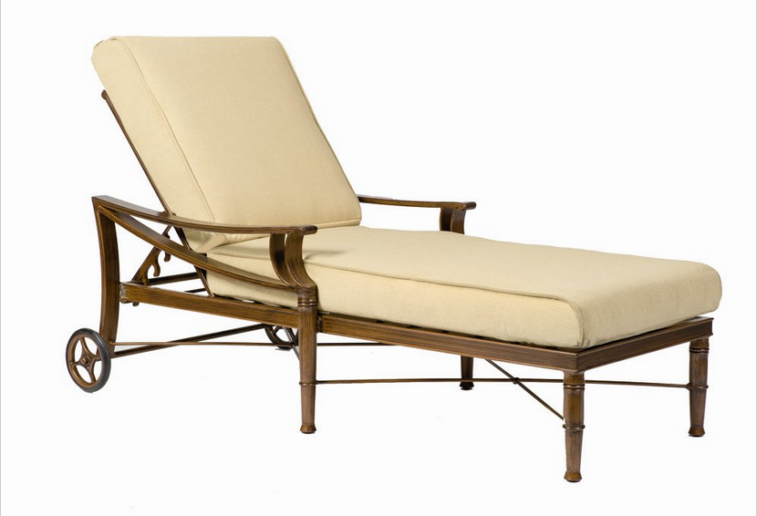 Arkadia Aluminum Adjustable Chaise Lounge