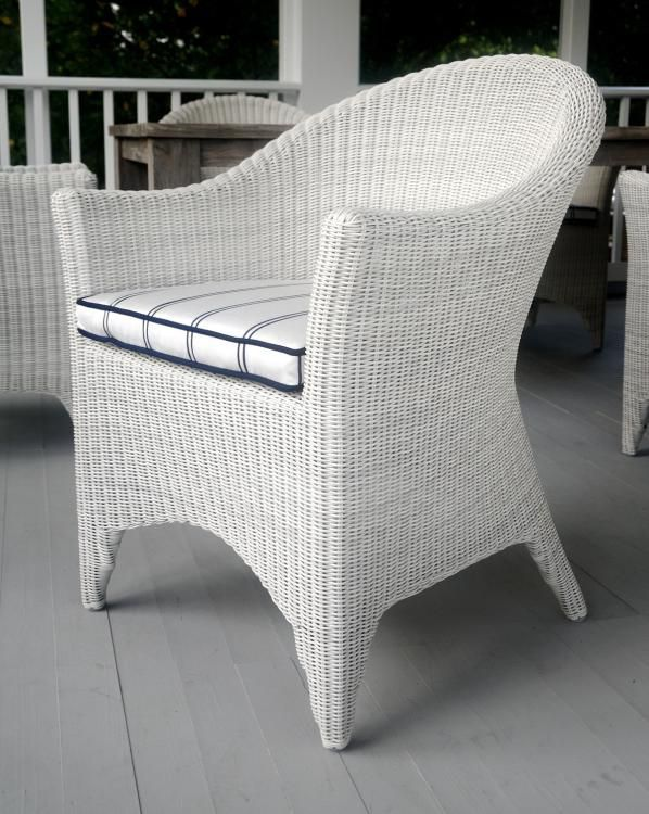 Kingsley-Bate Cape Cod Woven Dining Arm Chair