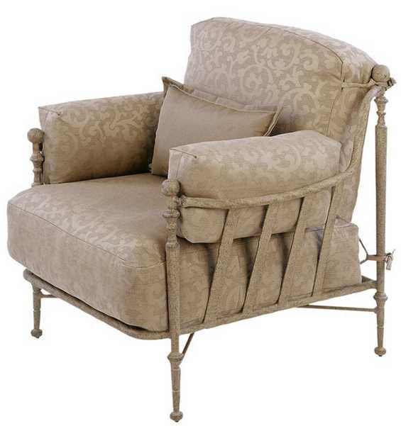 Landgrave Carlyle Cast Aluminum Lounge Chair