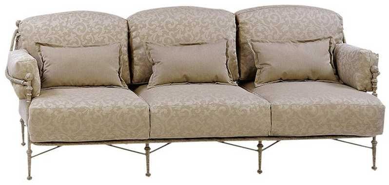 Landgrave Carlyle Cast Aluminum Sofa