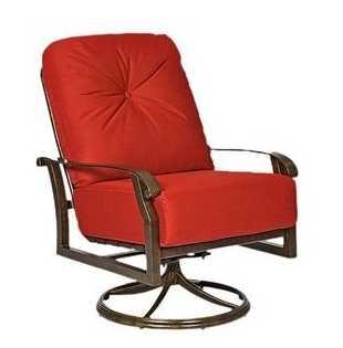 Cortland Aluminum Swivel Rocking Lounge Chair