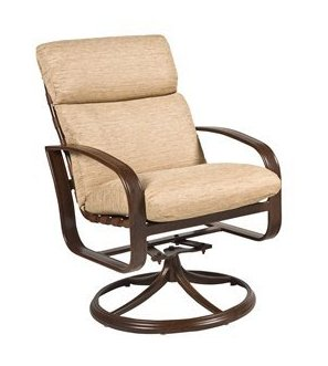 Cayman Isle Aluminum Swivel Rocker