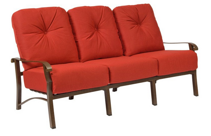 Cortland Cushion Aluminum Sofa
