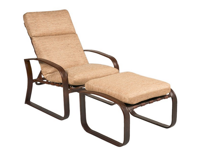 Cayman Isle Aluminum Adjustable Lounge Chair