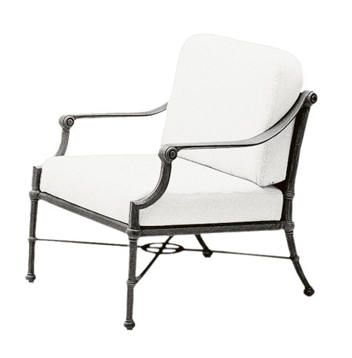 Delphi Aluminum Lounge Chair
