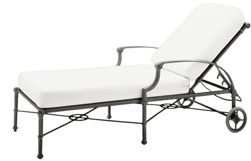 Delphi Aluminum Adjustable Chaise Lounge