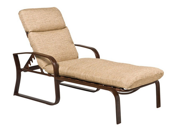 Cayman Isle Aluminum Adjustable Chaise Lounge