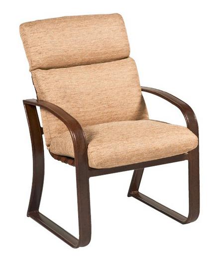 Cayman Isle Aluminum Dining Chair