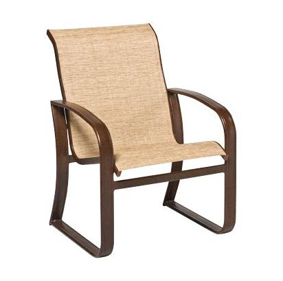 Cayman Isle Aluminum Sling Dining Chair