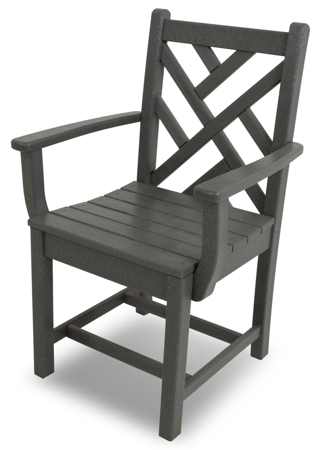 POLYWOOD� Chippendale Dining Arm Chair