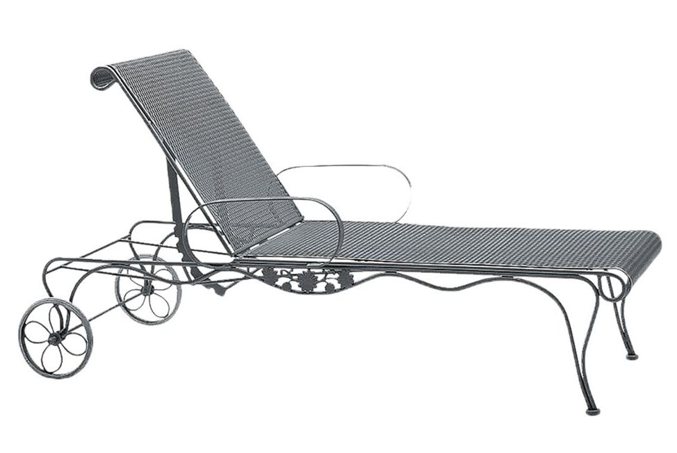 Briarwood Wrought Iron Adjustable Chaise Lounge