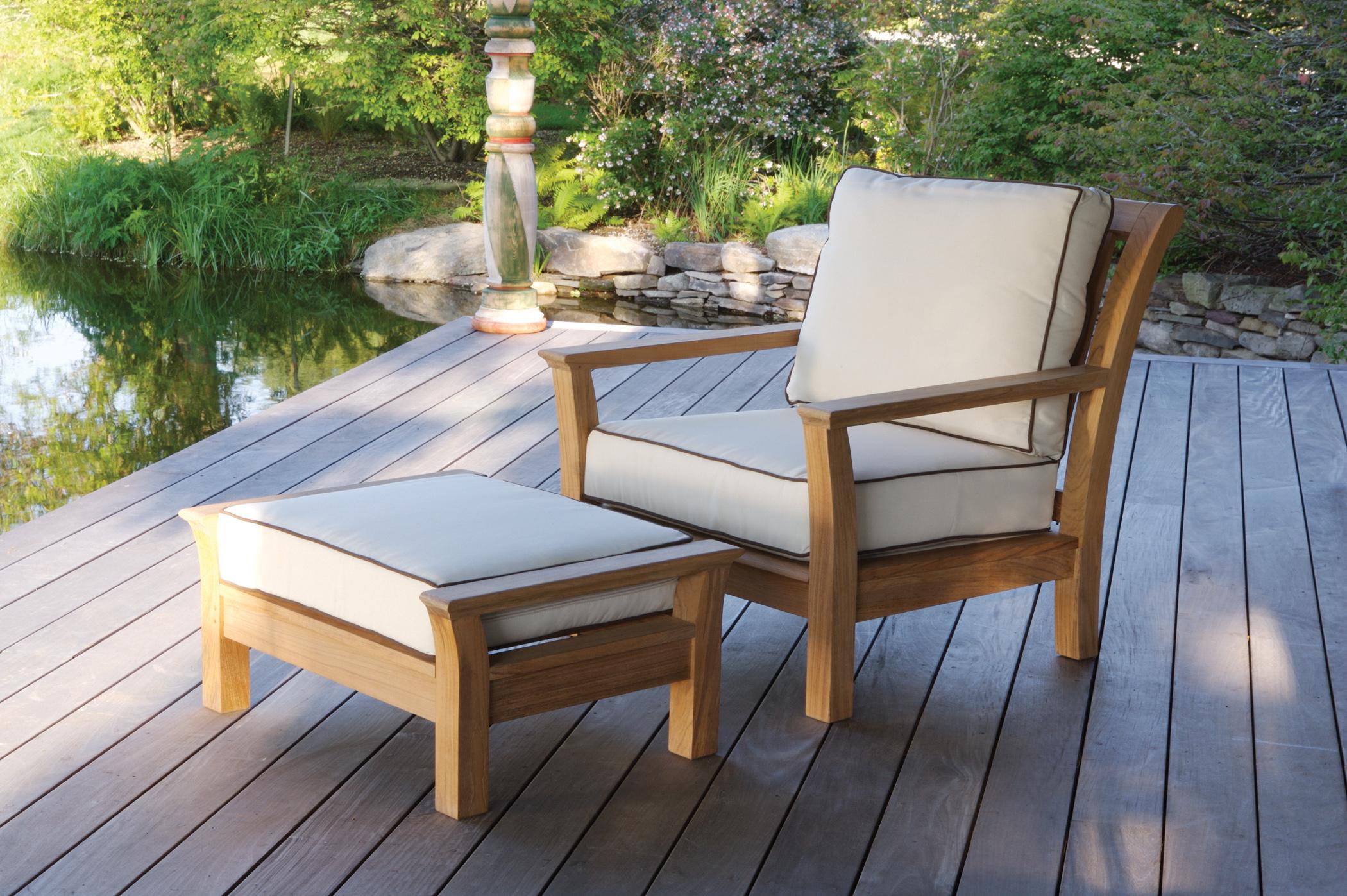 Kingsley-Bate Chelsea Teak Deep Seating Lounge Chair