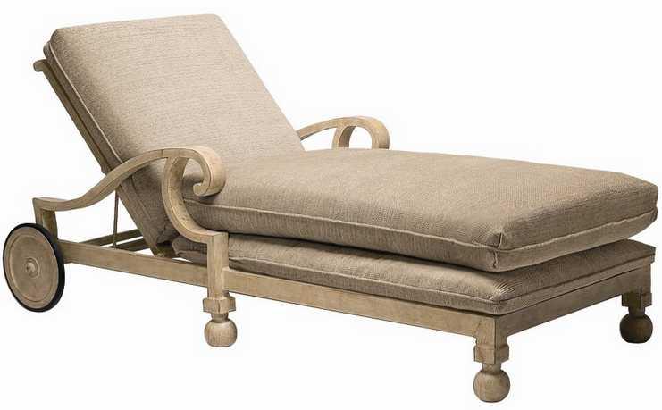 Landgrave Contempo Cast Aluminum Adjustable Chaise Lounge