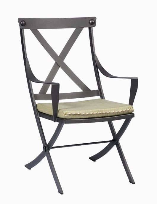 Cromwell Wrought Iron Dining Arm Chair