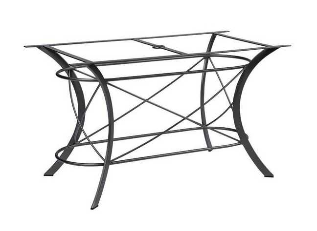 Cromwell Wrought Iron Large Dining Table Base