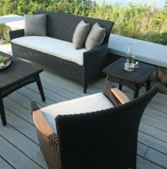 Kingsley-Bate Culebra Woven 10 Piece Seating Ensemble