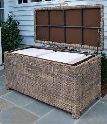 Kingsley-Bate Sag Harbor Woven Cushion Box