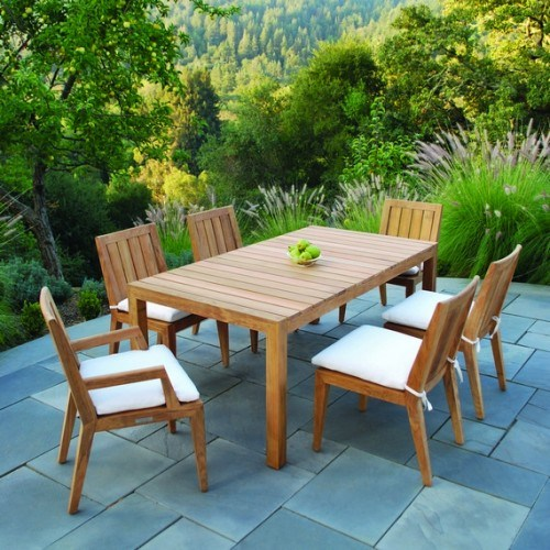 Kingsley-Bate Mendocino 7 Piece Dining Ensemble