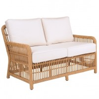 Kingsley-Bate Havana Rattan Wicker Deep Seating Settee