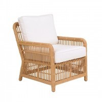 Kingsley-Bate Havana Rattan Wicker Deep Seating Lounge Chair