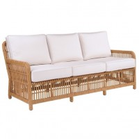 Kingsley-Bate Havana Rattan Wicker Deep Seating Sofa