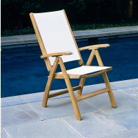 St. Tropez Adjustable Dining/Lounge Armchair (Folding)