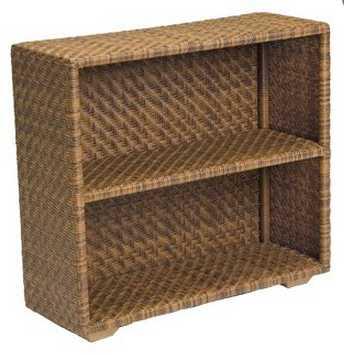 Domino Wicker Bookcase