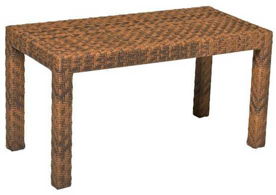 Domino Wicker Coffee Table
