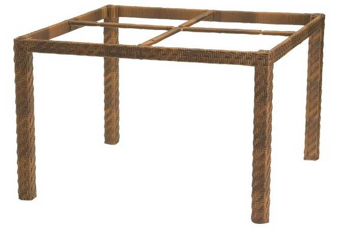 Domino Wicker Dining Table – Base Only