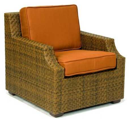 Domino Wicker Lounge Chair